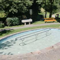 Kneippanlage in 88175 Scheidegg - im Pfarrer Kneipp Park (Ortsmitte) nähe Tourist Info (Westallgäu)
