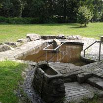 Kneippanlage in 94373 Schwarzach - Gemeindepark (Foto: Stefan Pinzl)