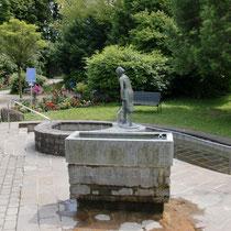Armbecken im kleinen Kurpark 83209 Prien am Chiemsee - nähe Haus des Gastes (Flyer)