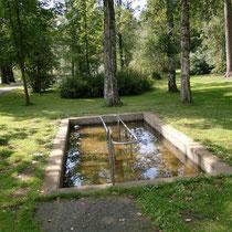 Kneippanlage in 94227 Zwiesel- Park in der Anlage