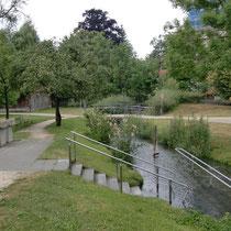 Kneippanlage in 87700 Memmingen - Neue Welten Park (Unterallgäu)