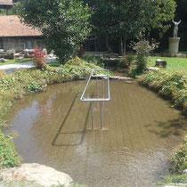 Wassertretbecken in 93471 Arnbruck - im Glasdorf Weinfurtner