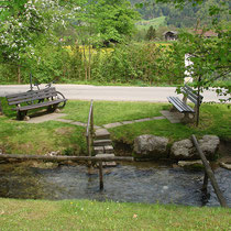 Wassertretbecken in 83229 Aschau- Hammersbach (Foto: Touristinfo Aschau)