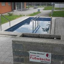 Kneippanlage in 86807 Buchloe - Am bad - nähe Vlf - (Ostallgäu)