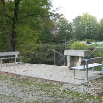 Kneippanlage in 84180 Loching- zwischen Isarbrücke und Sportplatz (Foto: Gemeinde Loching)
