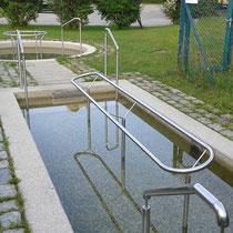 Kneippanlage in 83707 Bad Wiessee -  2 Wassertretbecken - Breitenbachdamm (Hinter dem Badepark)