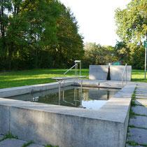 Kneippanlage in 94469 Deggendorf - Stadtpark (Foto: LRA Deggendorf)