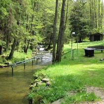 Kneippanlage in 94234 Viechtach - am Riedbach (Bild: Touristinfo Viechtach)