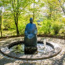 Kneippdenkmal an der Donau in 89407 Dillingen – Auwald (Schwaben) (Flyer im Downloadbereich) (Foto: Stadt Dillingen a.d. Donau)