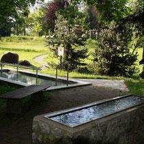 Kneippanlage in 87637 Seeg- Dorfanger (Ostallgäu) (Foto: Tourist Info Seeg)