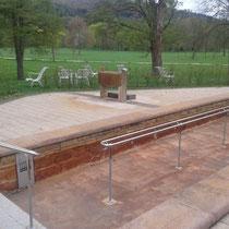Wassertretbecken in 97708 Bad Bocklet- Kurpark