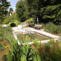 Kneippanlage in 94249 Bodenmais, Kurpark (Foto: Stephan Pinzl)