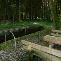 Wassertretbecken in 94577 Winzer- Tannholz - (Foto: LRA Deggendorf)