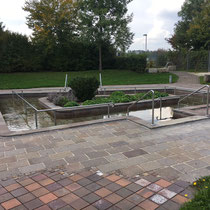 Wassertretbecken in 86343 Königsbrunn - im Park der Sinne