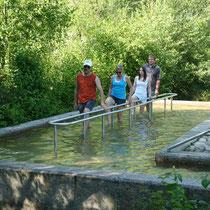 Wassertretanlage in 93444 Bad Kötzting- Kurpark (Bild: Kurverwaltung Bad Kötzting)