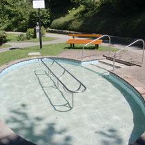 Wassertretbecken in 88175 Scheidegg- im Pfarrer Kneipp Park (Westallgäu)