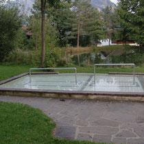 Wassertretbecken in 87645 Schwangau- Anlage 1 im Kurpark am Fischweiher (Ostallgäu)