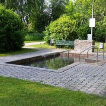 Kneippanlage in 86399 Bobingen - im Singoldpark (Foto: Stadt Bobingen)