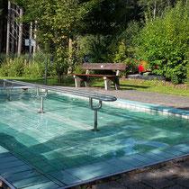 Wassertretbecken in hopfen- Klinik Enzensberg
