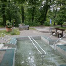 Kneippanlage in 83209 Prien am Chiemsee - Kurpark Eichental (Flyer im Downloadbereich)