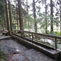 Kneippanlage in 94229 Bodenmais, Fitness Parcour (Foto: Stephan Pinzl)