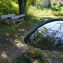 Kneippanlage in 94577 Winzer- Nesselbacch (Foto: LRA Deggendorf)