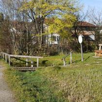 Kneippanlage in 82418 Seehausen am Staffelsee - unterhalb Parkplatz Gasthaus Stern - (Foto: Martina Stuprich)