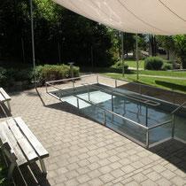 Kneippanlage in 92442 Wackersdorf - beim Panoramabad in einer kleinen Parkanlage (Bild: VG Wackersdorf)