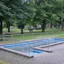 Wassertretbecken in 83233 Bernau am Chiemsee im Kurpark-Zentrum