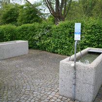 Armbecken in 93444 Bad Kötzting- Kurpark (Bild: Kurverwaltung Bad Kötzting)