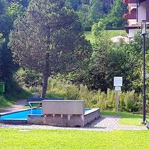 Kneippanlage in 87541 Unterjoch - im Dorfgarten, Steinebergweg (Oberallgäu)