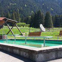 Wassertretbecken in 87645 Schwangau- Tegelbergbahn Talstation (Ostallgäu)