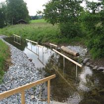 Wassertretbecken in 94545 Hohenau - Naturkneippanlage in Schönbrunn am Lusen (Bild: Tourismusbüro Hohenau)
