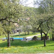 Kneippanlage in 92281 Königstein - Sulzbacher Straße gegenüber dem Naturbad (Bild: Touristinfo Königstein)