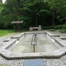 Wassertretbecken in 94234 Viechtach, Dr.-Schellerer Park (Foto: Stephan Pinzl)