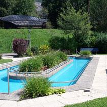 Wassertretbecken in 87541 Bad Oberdorf, am Musikpavillon im Schanzpark (Oberallgäu)