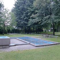 Kneippanlage in 83233 Bernau am Chiemsee im Kurpark Zentrum