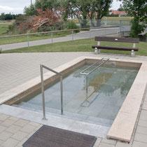 Wassertretbecken in 87733 Markt Rettenbach- Am Radweg (Unterallgäu)