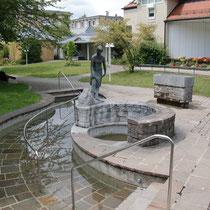 Kneippanlage im kleinen Kurpark 83209 Prien am Chiemsee- nähe Haus des Gastes (Flyer)