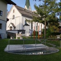 Kneippanlage in 6351 Scheffau am Wilden Kaiser (Österreich) Tirol