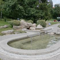 Kneippanlage in 86983 Lechbruck, Richtung Campinplatz (Ostallgäu)