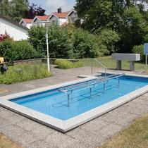 Wassertretbecken in 87719 Mindelheim- beim Landratsamt (Unterallgäu)