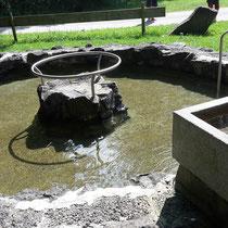 Wassertretbecken und Armbad in 87541 Vorderhindelang, am Kinderspielplatz Am Auwald (Oberallgäu)