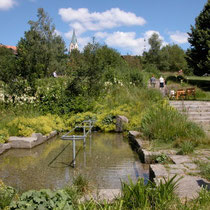 Kneippanlage in 94379 St. Englmar - Kurpark (Bild: Franz Xaver Six) -Flyer