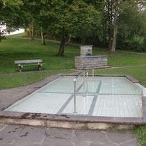 Kneippanlagen in 87645 Schwangau - Anlage 1 im Kurpark am Fischweiher (Ostallgäu)