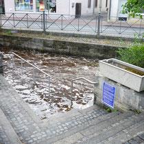 Kneippanlage in 82362 Weilheim - Obere Stadt (beim Freyerabendhaus) - (Foto: Kneippverein Weilheim)