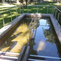 Wassertretanlage in 86911 Diessen am Ammersee - am See nähe Minigolfanlage