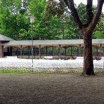 Veranstaltungsplatz mit Bestklung