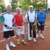 Endspiel Doppel: Klaus-Dieter Jahn, Jürgen Breitenstein, Karl-Heinz Ziegenbein, Harald Fieker