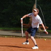 2.Platz im Einzel: Hartmut Reinbender